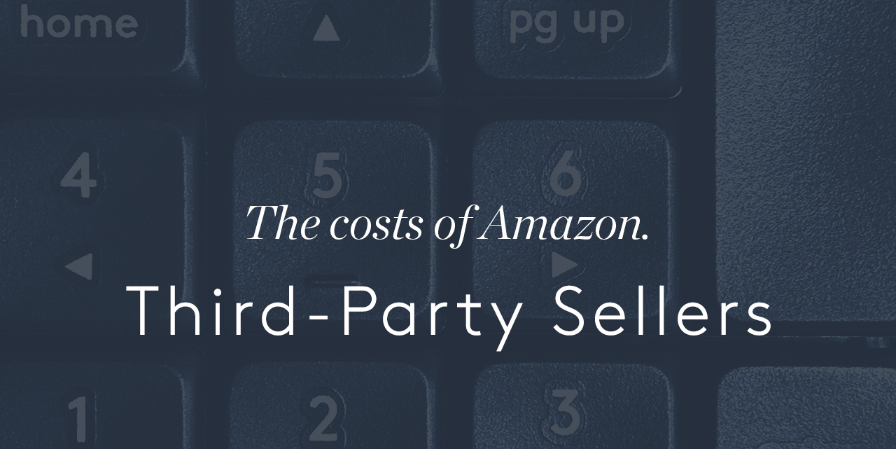 How much does do Amazon third-party sellers cost?