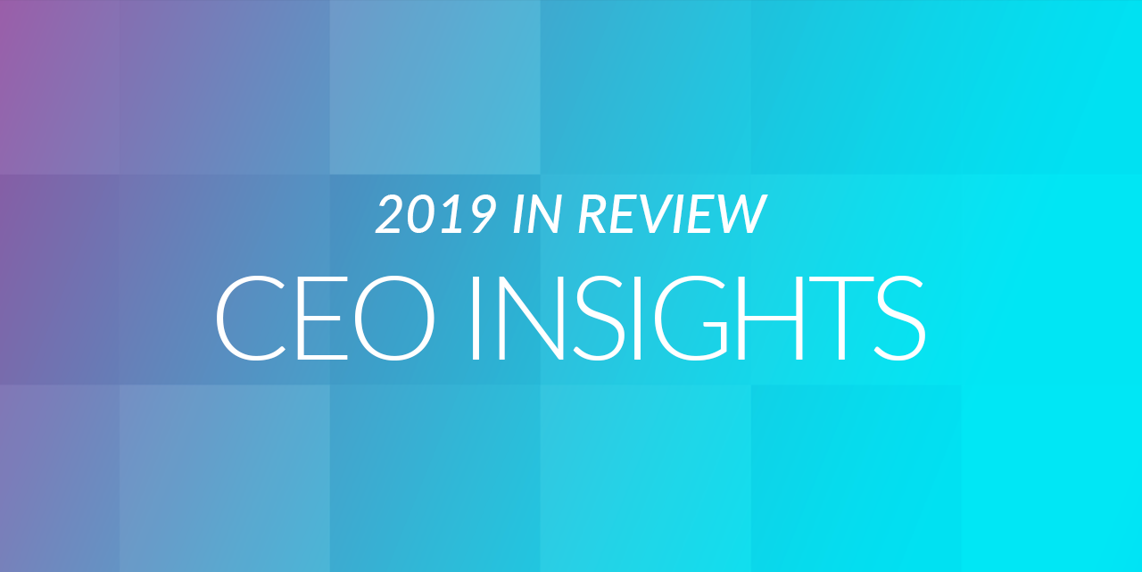 2019 in Review and 2020 Vision