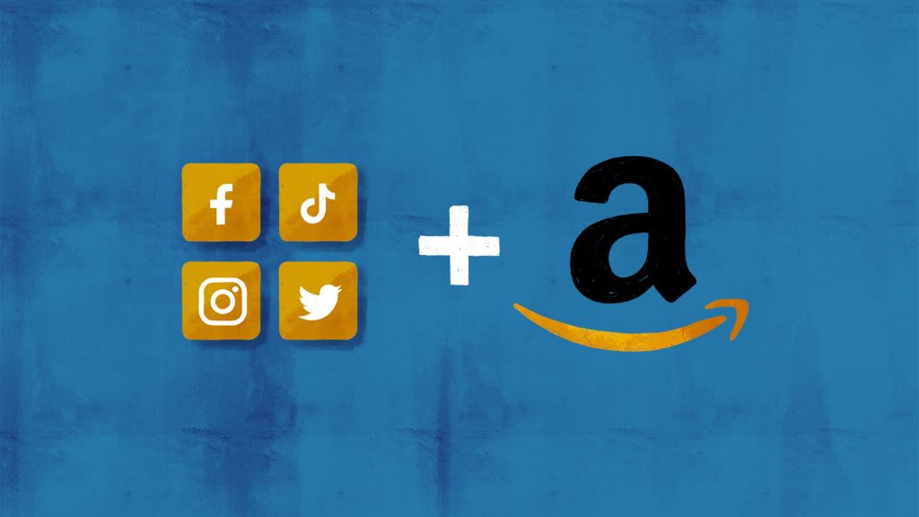 Amazon and social media marketing