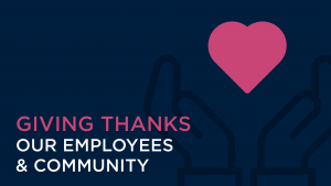 Giving Thanks to Kaspien Employees