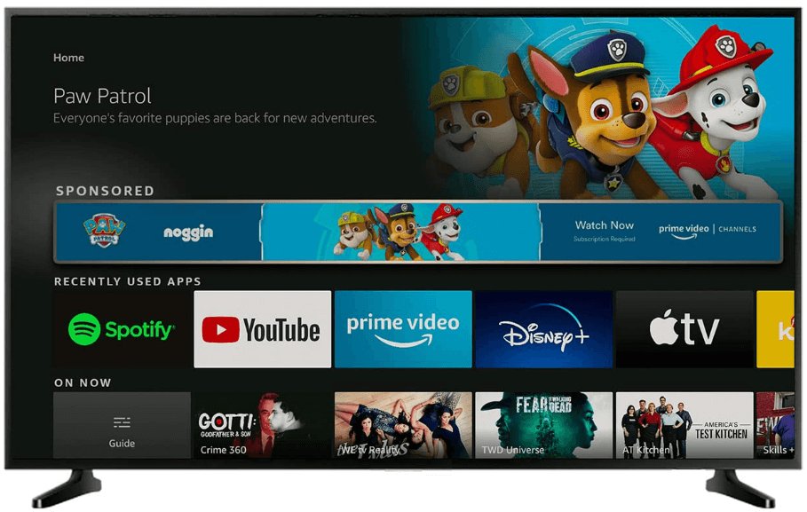 Fire TV ad placement