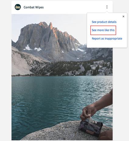 Combat Wipes Amazon Post Example