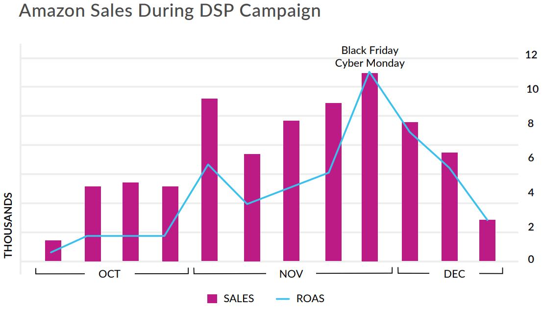 Amazon DSP Case Study Graph