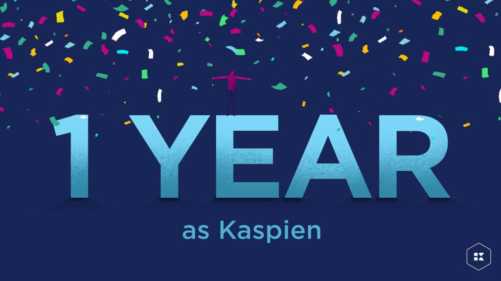 Kaspien 1 Year Anniversary